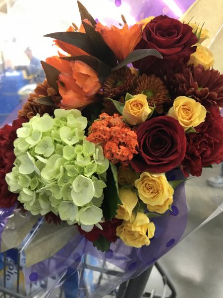 Gorgeous Fall Wedding Flowers]