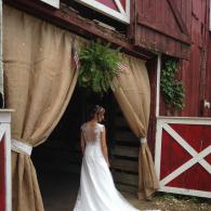 Every wedding at Hidden Valley has a Country Welcome.  The photo opportunity is obvious!